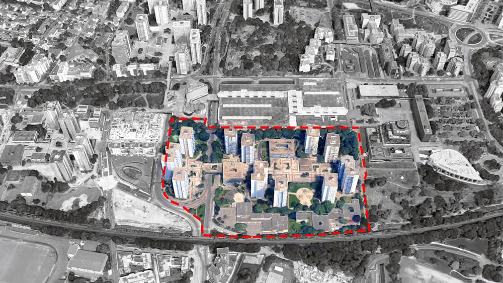 Etude urbain du centre ville
