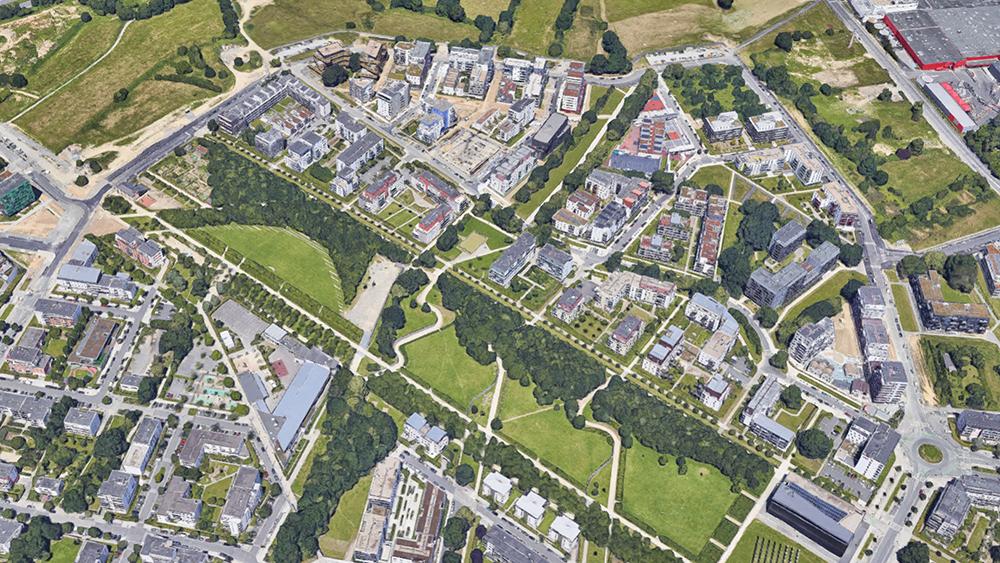 Projet urbain du Quartier de Beauregard